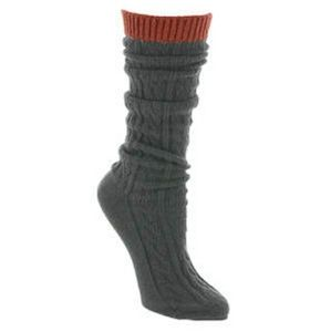 Free People Koda Cable Slouchy Boot Socks
